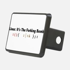 Linux: It's the forking Bomb Hitch Cover