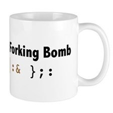 Linux: It's the forking Bomb Mug