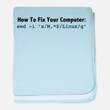 How to fix your computer in one command! baby blan