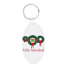 Bolivia Christmas 2 Keychains