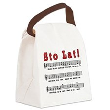Sto Lat! Song Canvas Lunch Bag