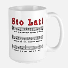 Sto Lat! Song Large Mug
