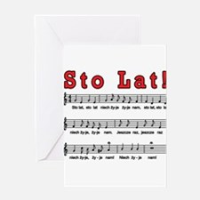 Sto Lat! Song Greeting Card