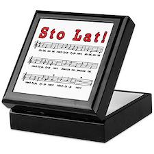 Sto Lat! Song Keepsake Box