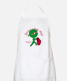 Santas Little Ninja Apron