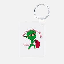 Santas Little Ninja Keychains