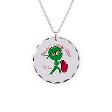 Santas Little Ninja Necklace