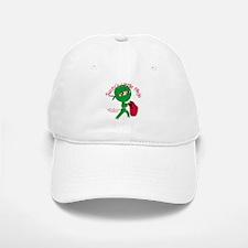 Santas Little Ninja Baseball Baseball Cap
