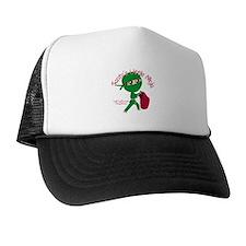 Santas Little Ninja Trucker Hat
