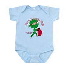 Santas Little Ninja Infant Bodysuit