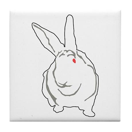 Bunny Tile Coaster