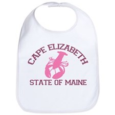 Cape Elizabeth ME - Lobster Design. Bib