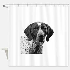 German Shorthaired Pointer Shower Curtain