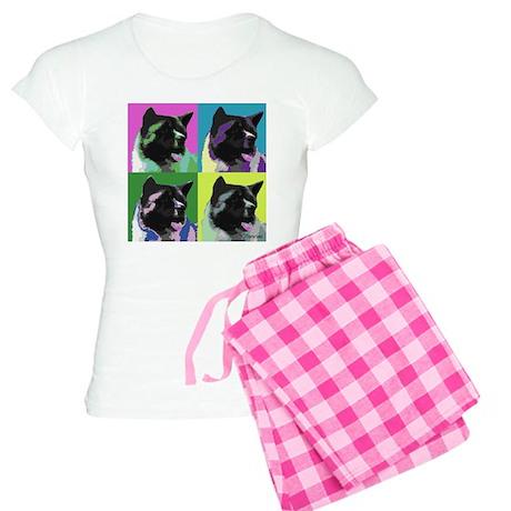 Akita Pop Art Women's Light Pajamas
