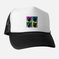 Akita Pop Art Trucker Hat