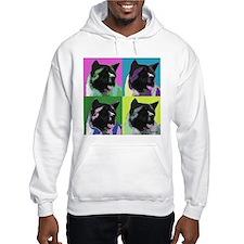 Akita Pop Art Hoodie
