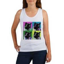 Akita Pop Art Women's Tank Top