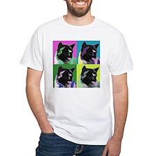 Akita Pop Art Shirt
