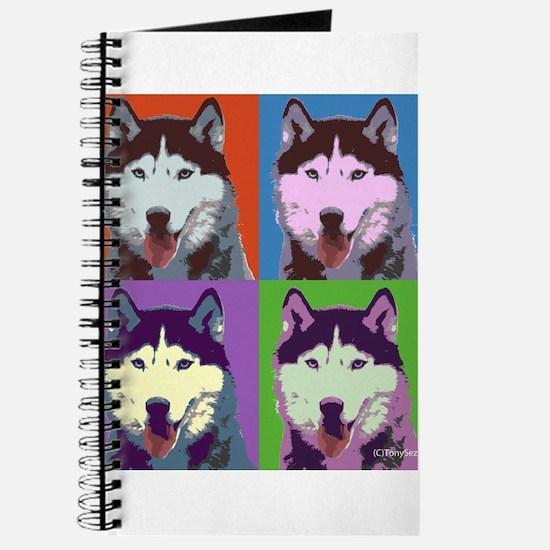 Husky Pop Art Journal