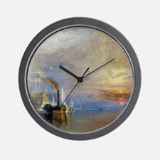 William Turner The Fighting Temeraire Wall Clock