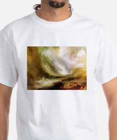 Turner Snowstorm and Avalanche Shirt