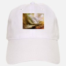 Turner Snowstorm and Avalanche Baseball Baseball Cap