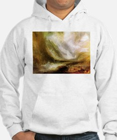 Turner Snowstorm and Avalanche Hoodie