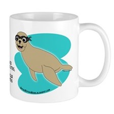 Milo, my Ninja Seal - Mug (white)