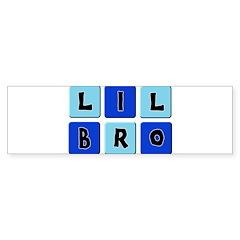 Lil Bro Bumper Bumper Sticker