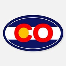 CO - Colorado Sticker (Oval)