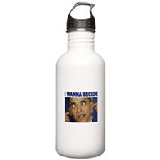 OBAMA CROSSEYED Water Bottle