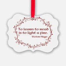 Fire of Reading Ornament