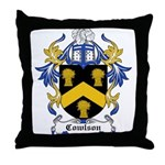 Cowlson Coat of Arms Throw Pillow