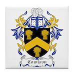 Cowlson Coat of Arms Tile Coaster
