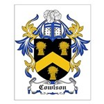 Cowlson Coat of Arms Small Poster