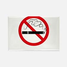 No Smoking Rectangle Magnet