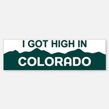 CO - Colorado Bumper Bumper Sticker