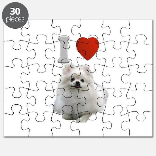 White Pomeranian Puzzle