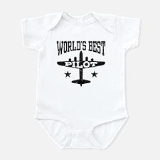 World's Best Pilot Infant Bodysuit