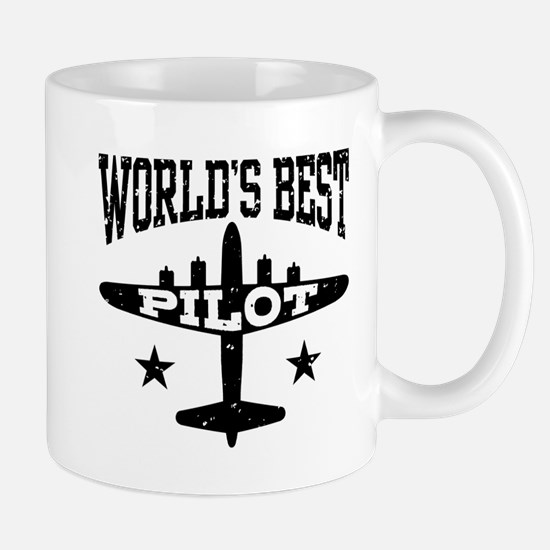 World's Best Pilot Mug