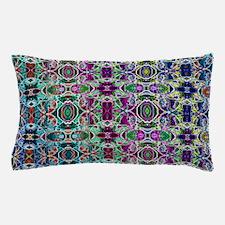 Rainbow Fractal Art Pillow Case
