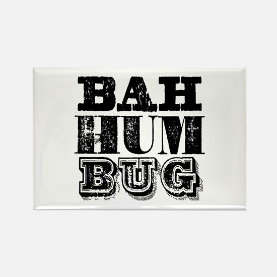 Bah Humbug Rectangle Magnet