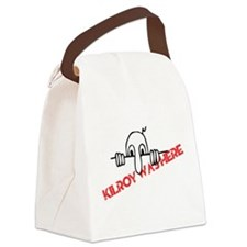 Kilroy Was Here Canvas Lunch Bag