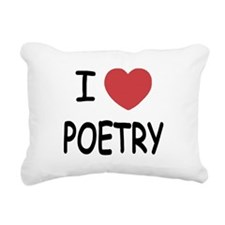 POETRY.png Rectangular Canvas Pillow