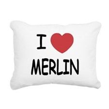 MERLIN01.png Rectangular Canvas Pillow