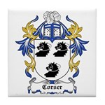 Corser Coat of Arms Tile Coaster