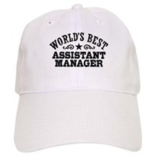 World's Best Assistant Manager Baseball Cap