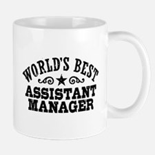 World's Best Assistant Manager Mug
