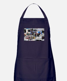Barack Obama 2012 Re-Election Collage Apron (dark)