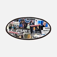 Barack Obama 2012 Re-Election Collage Patches